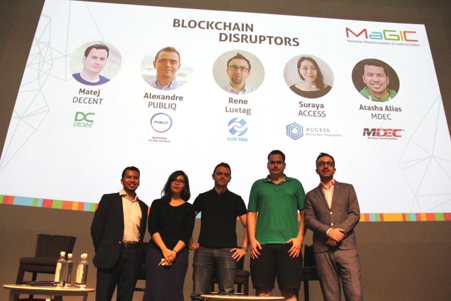 Blockchain Disruptors