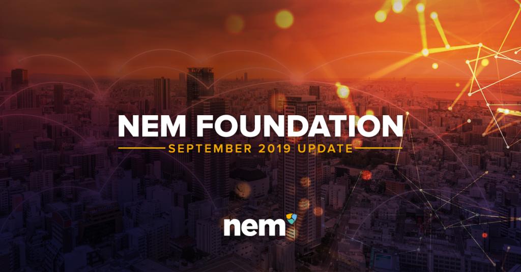 NEM FOUNDATION SEPTEMBER 2019 UPDATE