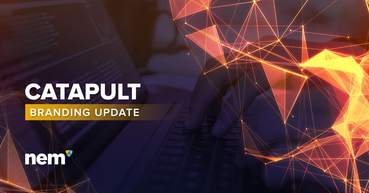 NEM Branding update catapult brand